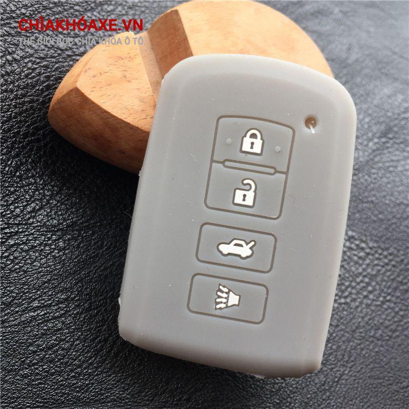 Bọc Silicon chìa Toyota Camry RAV4 Corolla 4 nút