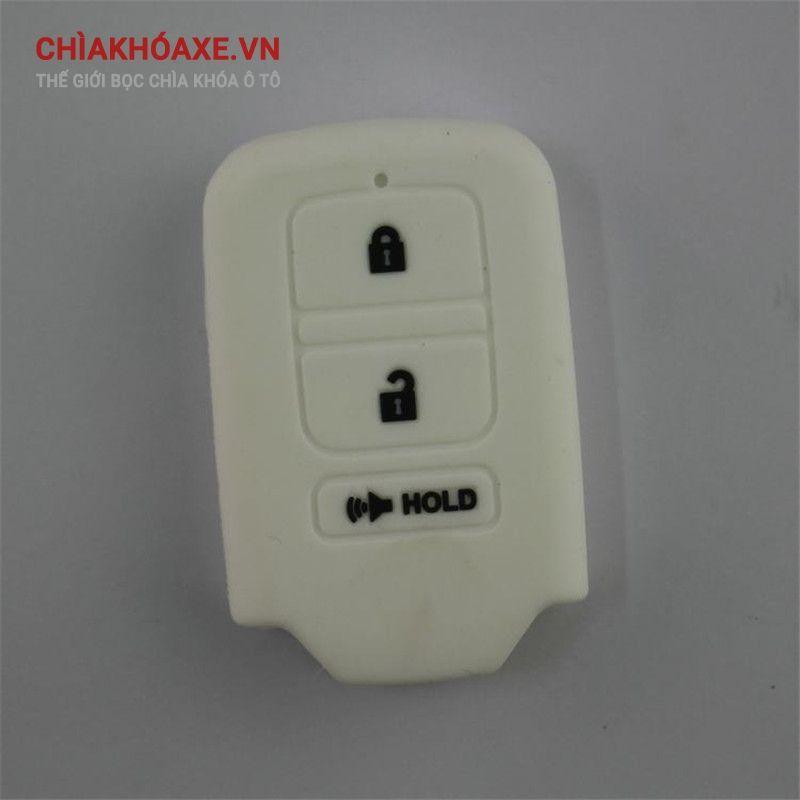 Bọc chìa Honda fit jade Civic Accord CRV VEZEL XRV CRIDE silicon 3 nút