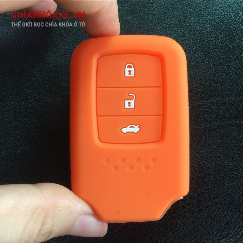 Vỏ bọc chìa khóa Honda Accord 9 Crider 3 nút silicon