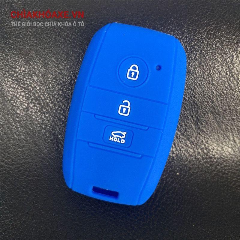 Bọc vỏ chìa KIA KX3 K3 K4 K5 Sorento 3 nút silicon