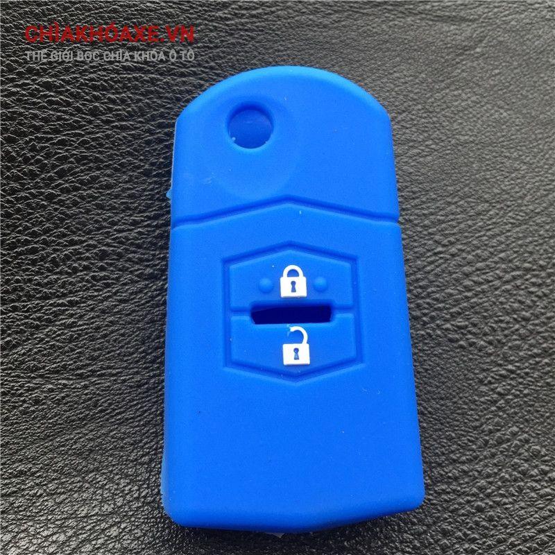 Bọc vỏ silicon chìa MAZDA 2 MAZDA 3 MAZDA 5 MAZDA 6 2 nút