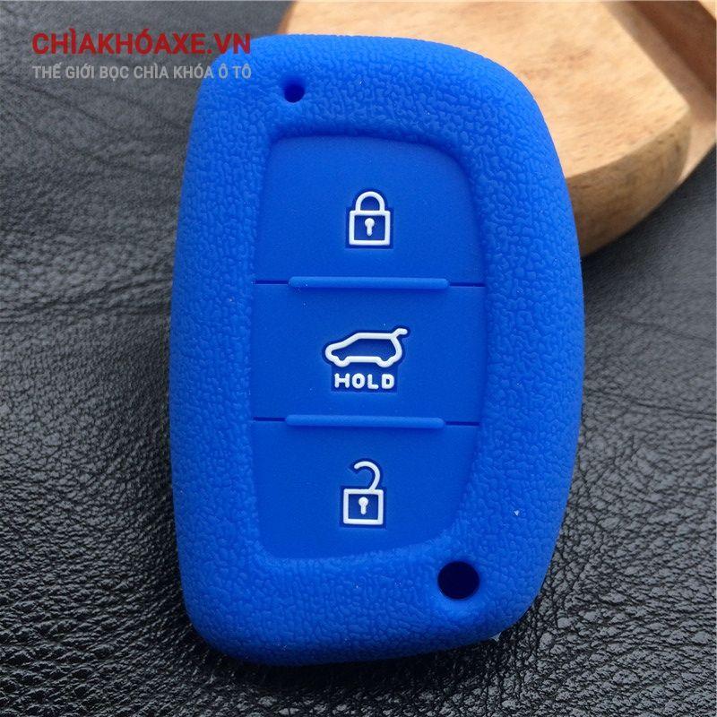 Bọc chìa khóa Hyundai MISTRA Sonata 9 ELANTRA Tucson 3 nút silicon
