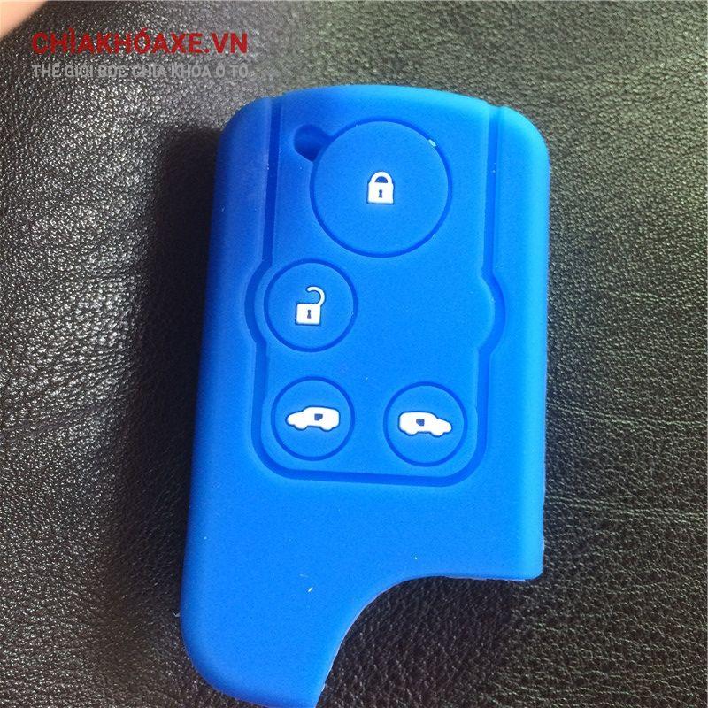 Bọc vỏ chìa khóa Honda ELYSION 2012 - 2015 4 nút silicon